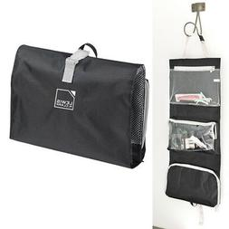 1 Hanging Toiletry Travel Organizer Black Kit Bag Cosmetic C