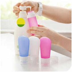 1*Travel Silicone Bottle Shampoo Shower Gel Lotion Sub-bottl
