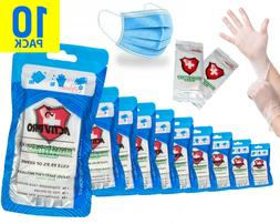 10 PACK - Personal Protection Kits - 24 Hour Protection Kit
