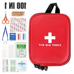 100pcs first aid kit medical emergency travel