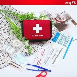 11 items 27pcs portable travel first aid