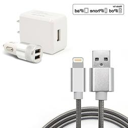 Ula 2.1A Fast Charging Cables 3.3ft Charger Cord Data Cable