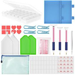 27 Pieces 5D Diamonds Painting Tools Accessories Kits 28 Slo