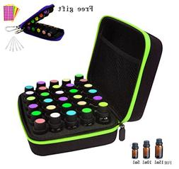 30 Bottles Essential Oil Carrying Case for 5ml, 10ml and 15m