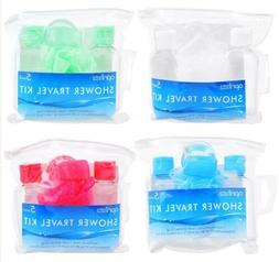 4 travel kit 5 pack set green