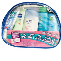 *TRAVEL KIT FOR THE WOMAN ON THE GO  9 PIECE ESSENTIALS WITH