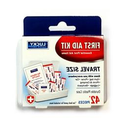 42 PC First Aid Kit Medical Travel Emergency Medicine Auto H