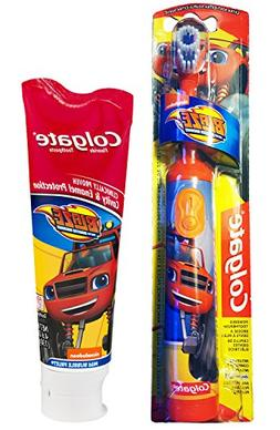 Colgate Blaze And The Monster Machines Toothbrush & Toothpas