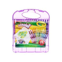 Crayola 04-2705 Mini Twistable Crayons & Paper Set, 65 Piece