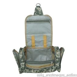 DALIX Camouflage Hanging Travel Toiletry Kit Accessories Bag