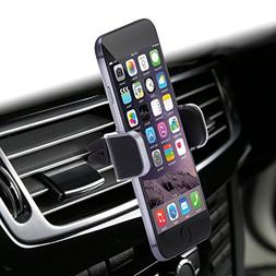 Dash Crab Mono, Genuine Leather Cell Phone Car Mount, Luxury