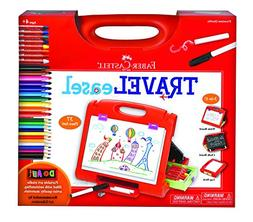 Faber Castell Do Art Travel Easel - Portable Art Kit for Kid