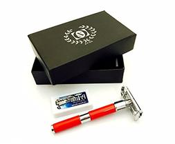 Head Shave Safety Razor with Extra Guard Shaver DORCO Prime