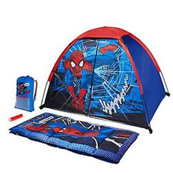 Marvel Ultimate Spiderman 4 Piece Kids Camp Kit - Indoor / O