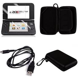 QKILL 3 IN 1 Protective Hard Carrying Case for Nintendo 3DS