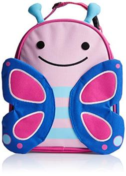 Skip Hop Zoo Kids Insulated Lunch Box, Blossom Butterfly, Pi