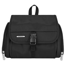 Travelon Luggage Hanging Toiletry Kit with Pocket, Black