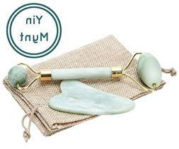 Yin Mynt Anti Aging Jade Roller For Face and Eye | 100% Real