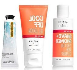 Bath and Body Works Active Skincare Travel Size Shave & Show