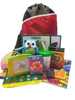 Travel Activity Bag Kit for Kids - Keep Preschool Children B