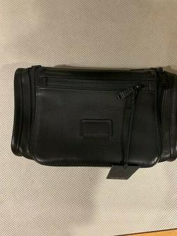 Tumi Alpha Black Napa Leather Travel Kit  92190DH