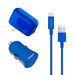 Apple Certified Home Charger Adapter and Lightning Cable wit