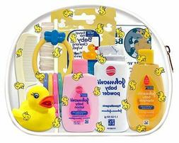 Baby Travel Hygiene Convenience Bath Kits - 9 pc. in Zippere