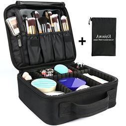 Travel Makeup Bag, ESARORA Portable Travel Makeup Cosmetic C