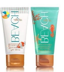 Bath and Body Works AT THE BEACH Travel Size Body Care Set.