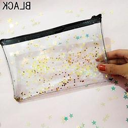 Beautyonline Clear Makeup Bags Toiletry Bag PVC Travel Toile