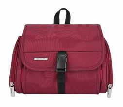 Brand New Travelon Hanging Toiletry Kit Cranberry Case Organ