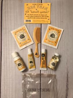 Burt's Bees Baby Bee Getting Started Kit. 8 Piece set. New N
