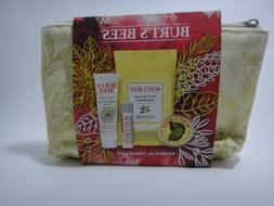 Burt's Bees Holiday Essential 4pc Travel Kit New
