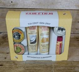 Burt's Bees Tips and Toes Kit Travel Size Skin Care Products