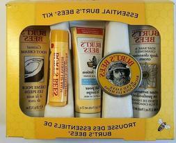 Burt's Bees 5 Piece Travel Size Essential Kit of Lotion, S