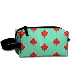 CNJELLAW Canadian Maple Leaf Hanging Cosmetic Bag Fashion Ma