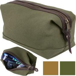 Travel Toiletry Bag Kit Case Compact Military Dopp Organizer