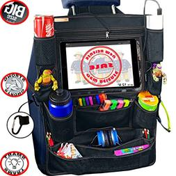 B-comfort Car Back Seat Organizer for Kids with Tablet Holde