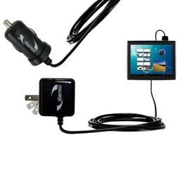 Gomadic Car and Wall Charger Essential Kit for the Le Pan Mo