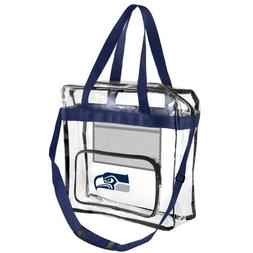 Clear Handbag Purse/ Great for Work, Events, Makeup / NFL St