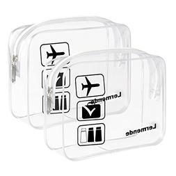 clear toiletry bag tsa approved