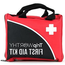 Tripworthy Compact First Aid Kit for Medical Emergency - for