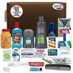 Convenience Kits Men's Premium 20 Count Necessities Travel