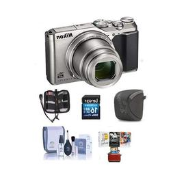 Nikon Coolpix A900 Digital Point & Shoot Camera Silver - Bun