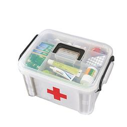 "Creative Large Portable Medicine Kit Travel Medical Box,13""x"
