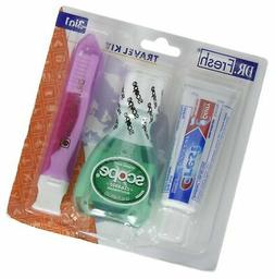 Dental Travel Kit - Crest Toothpaste - Scope - Toothbrush wi