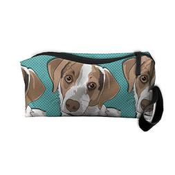 Dog Pet Makeup Bag Zipper Organizer Case Bag Cosmetic Bag Pe