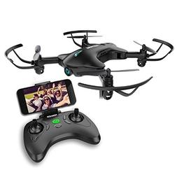 Drone with Camera, TENKER FPV RC Drone with 720P HD Wi-Fi Ca