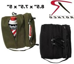 Dual Compartment Travel Kit Bag toiletries & Shaving Kit Bag
