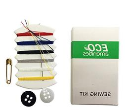 ECO Amenities Embroidery Compact Sewing Kit, Individually Wr
